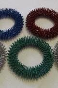 Массажное кольцо су-джок на кисть (акупунктурный браслет, диам.95 мм) №4
